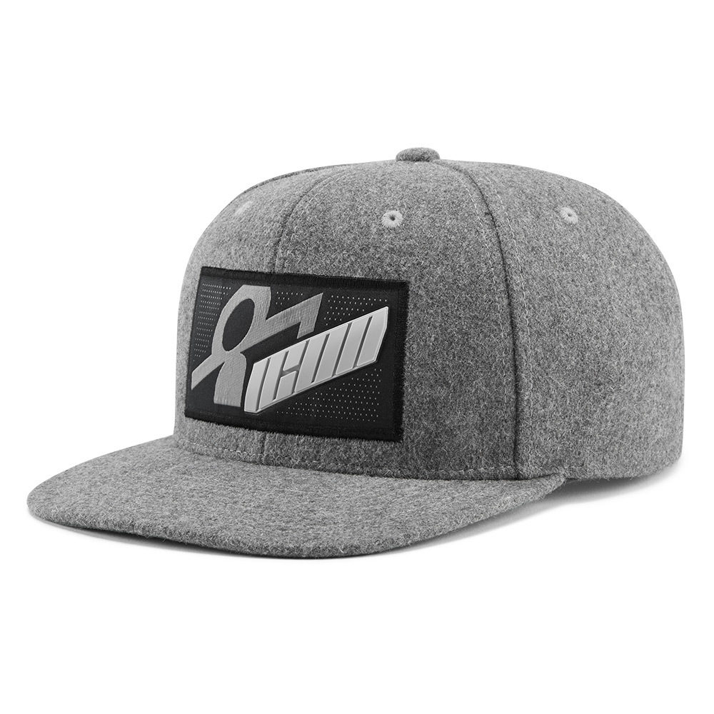 SIQ WHOOLY HAT - GREY