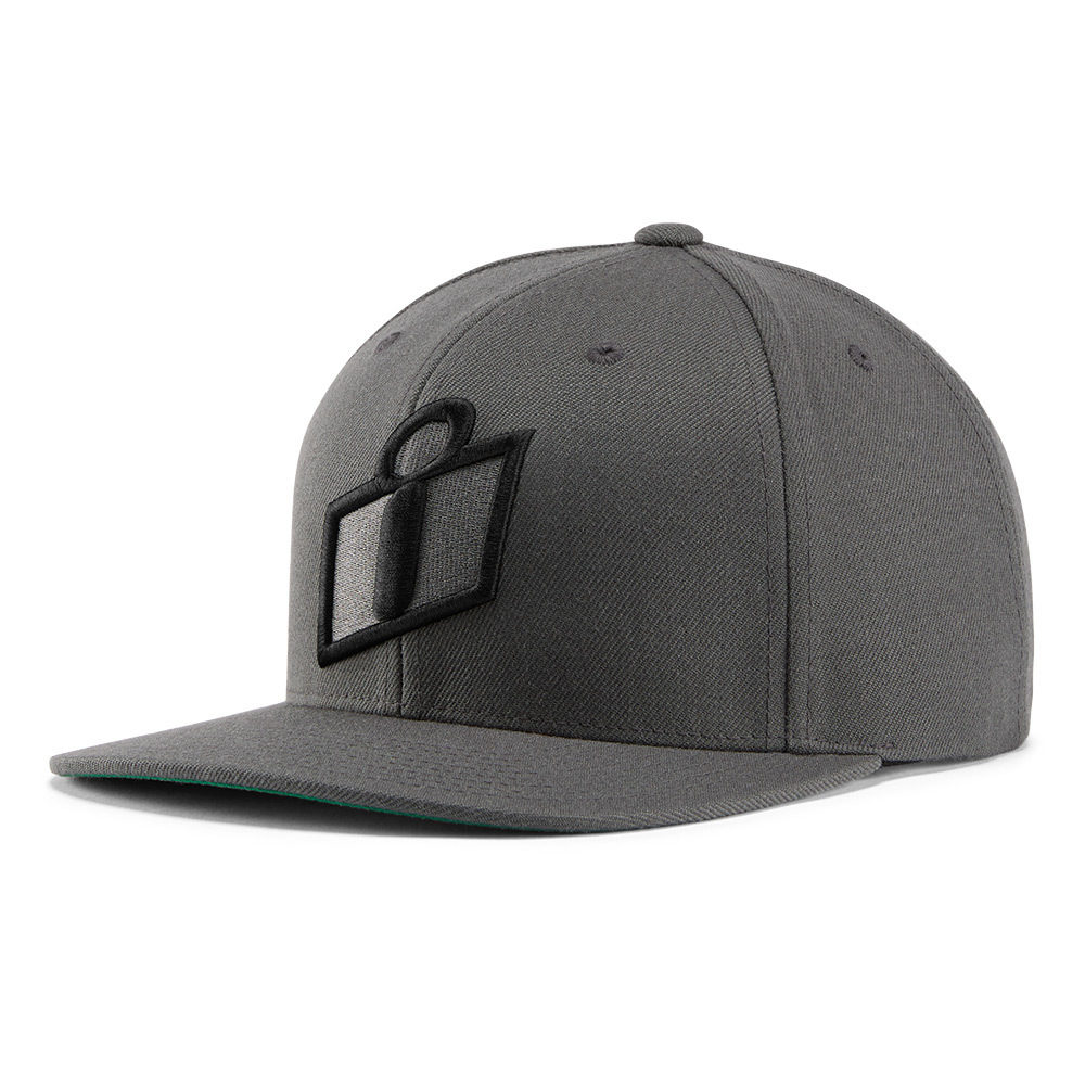 MENS HATS-STATUS- GREY