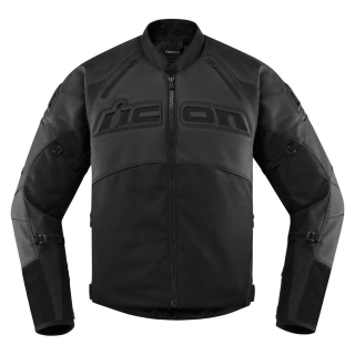 MENS JACKETS CONTRA 2 LEATHER-STEALTH